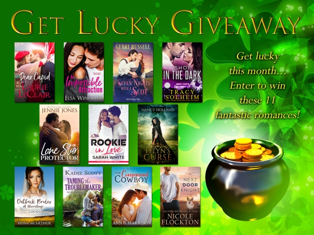 Get Lucky Giveaway | Kadie Scott | Contemporary Romance Author